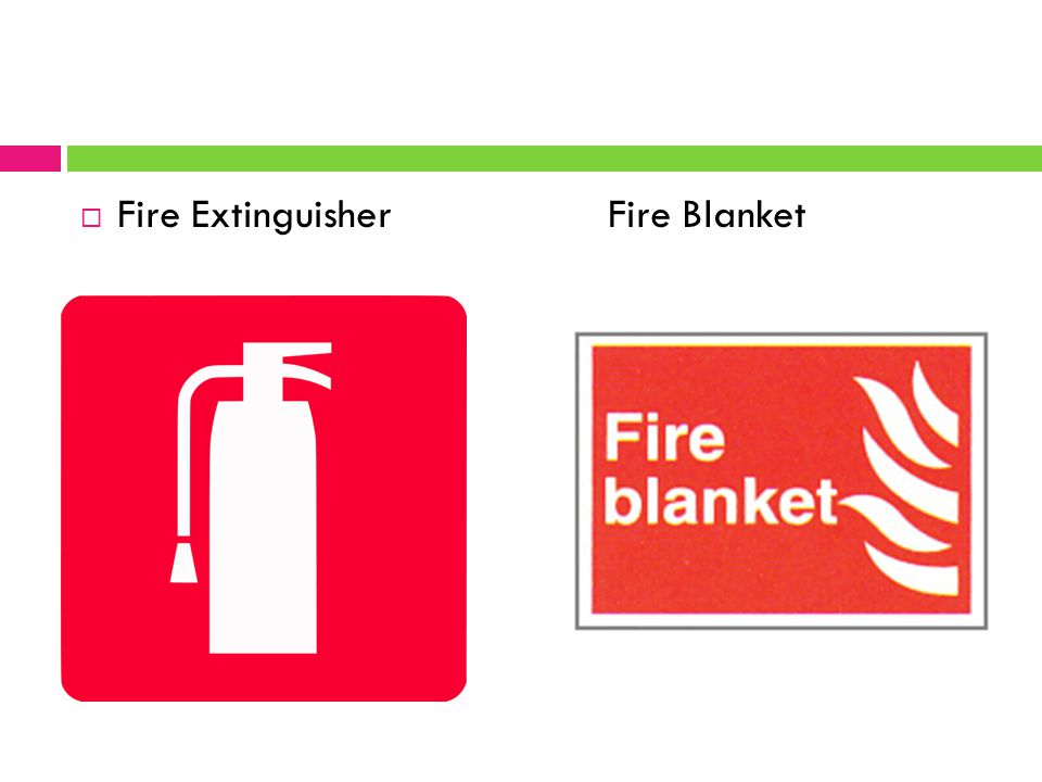  Fire Extinguisher Fire Blanket