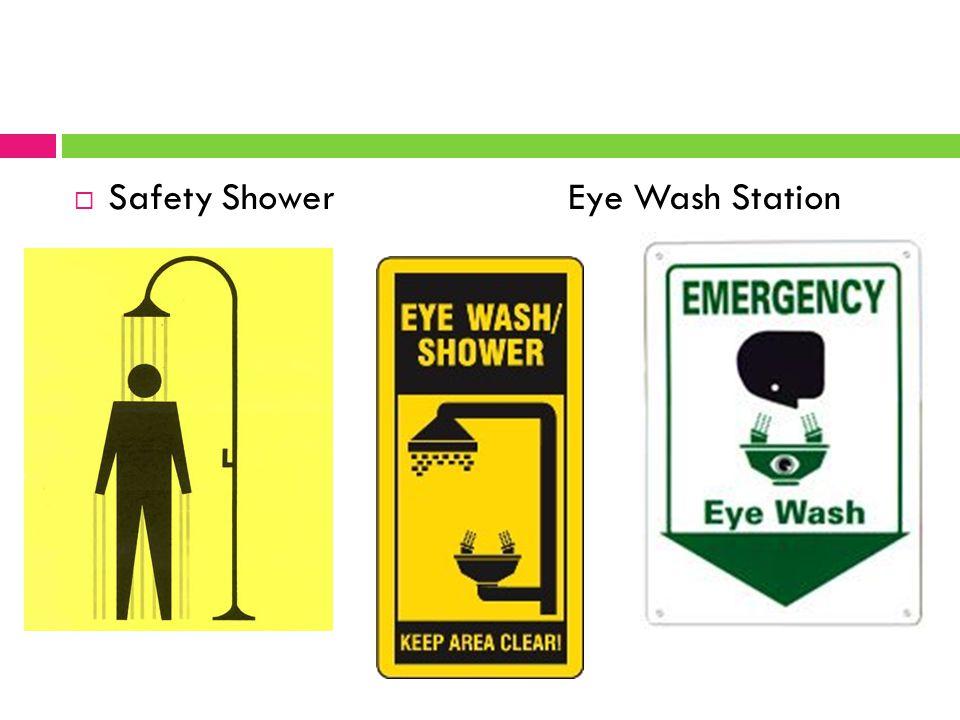  Safety Shower Eye Wash Station