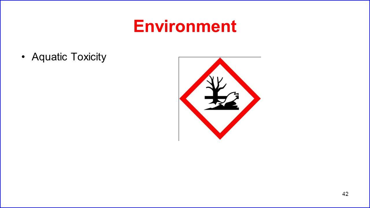 Environment Aquatic Toxicity 42