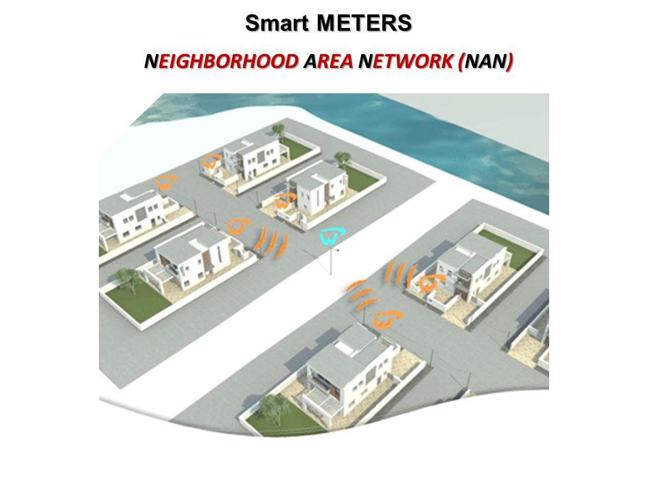 Smart METERS NEIGHBORHOOD AREA NETWORK (NAN)