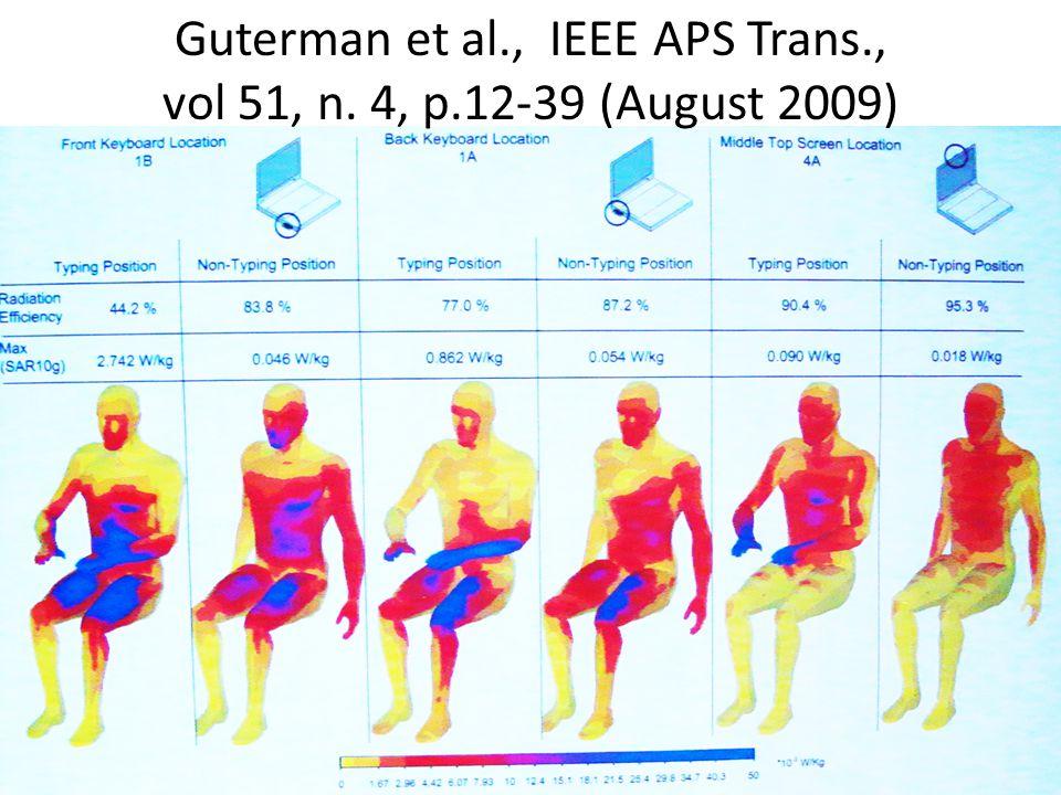 Guterman et al., IEEE APS Trans., vol 51, n. 4, p.12-39 (August 2009)