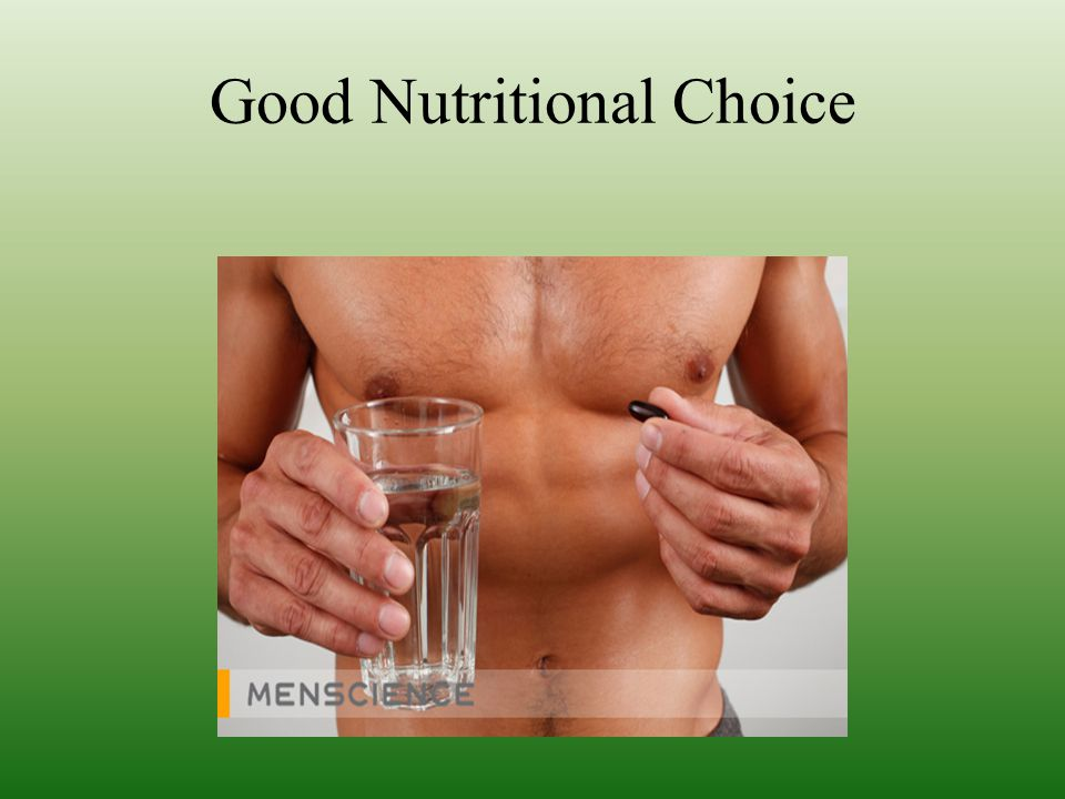 Good Nutritional Choice