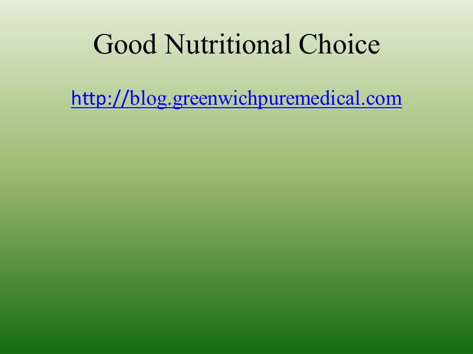 http:// blog.greenwichpuremedical.com