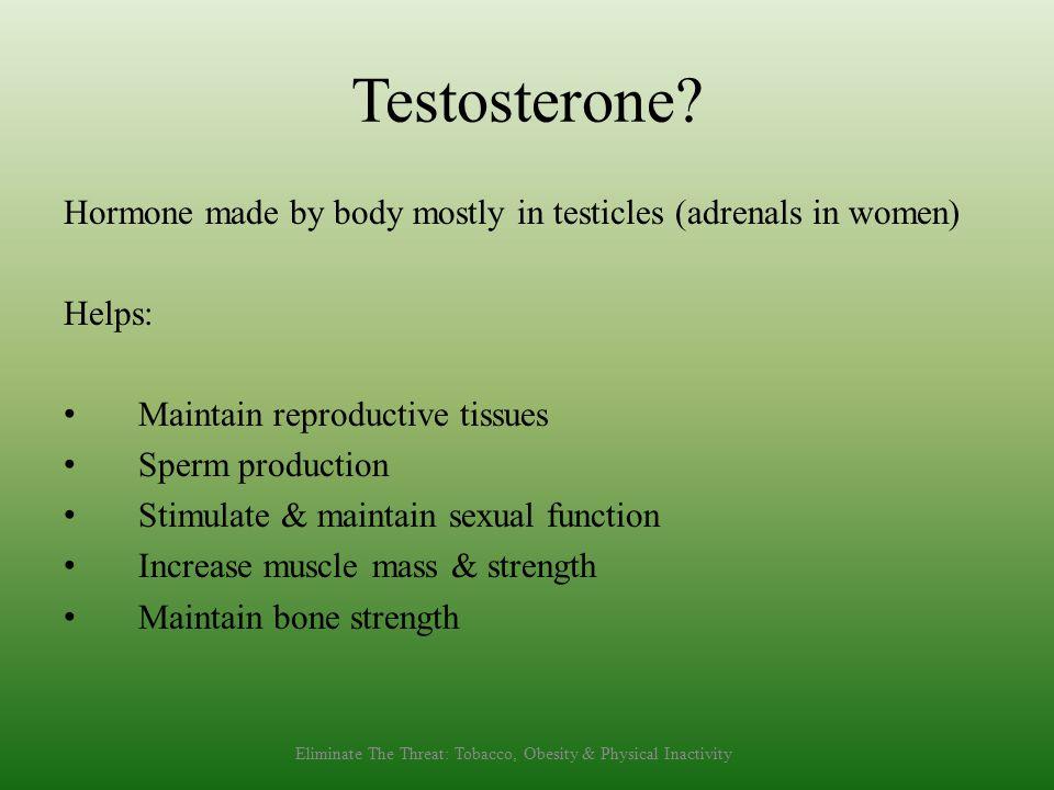 Testosterone.