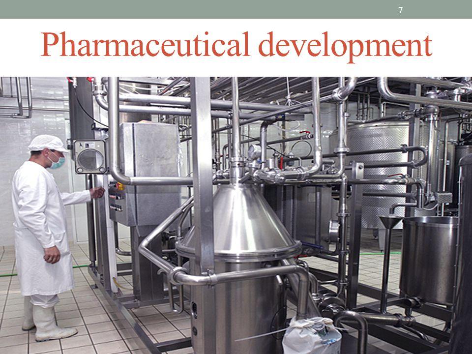 Pharmaceutical development 7