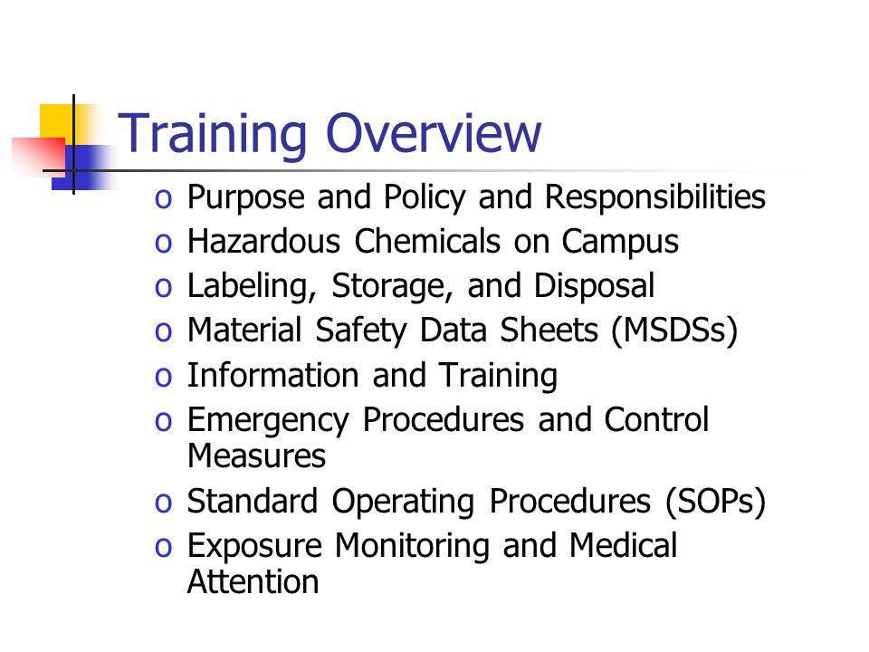 Before personnel are assigned to laboratory Prior to new tasks involving hazardous chemicals Training shall occur: