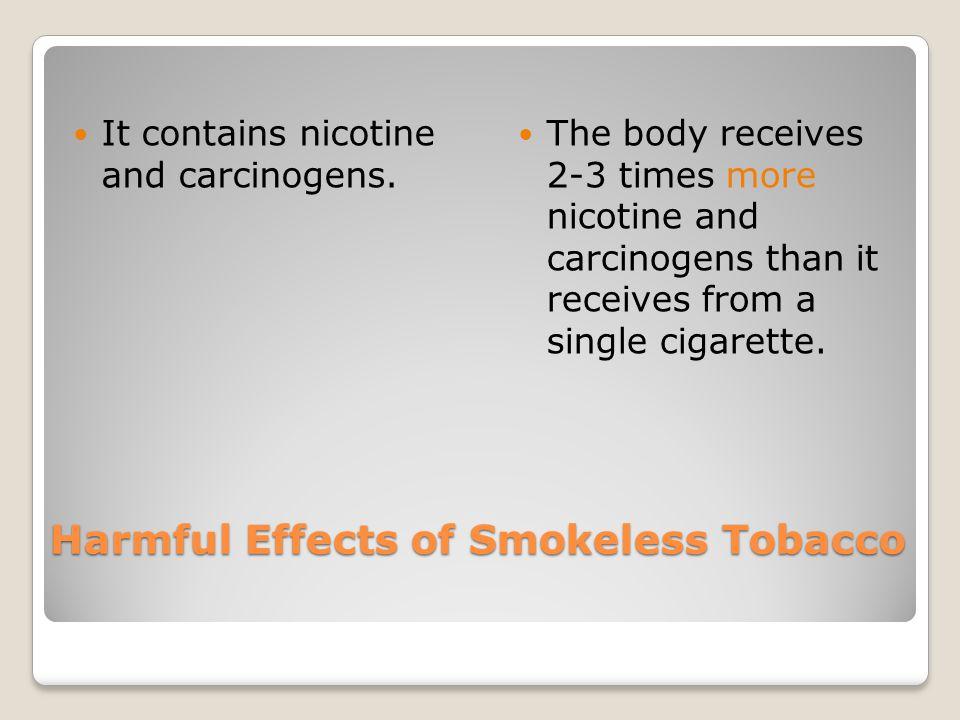 Smokeless Tobacco (p.