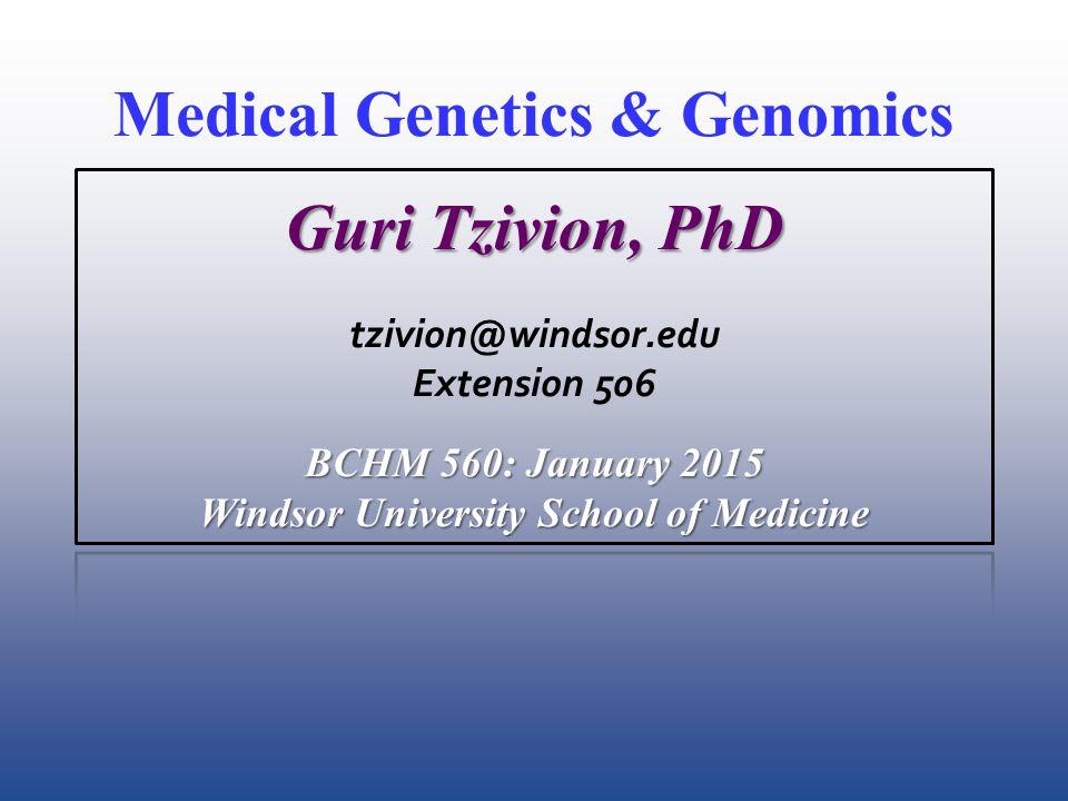 BCHM 560 MD2 Genetics Class 23 3.