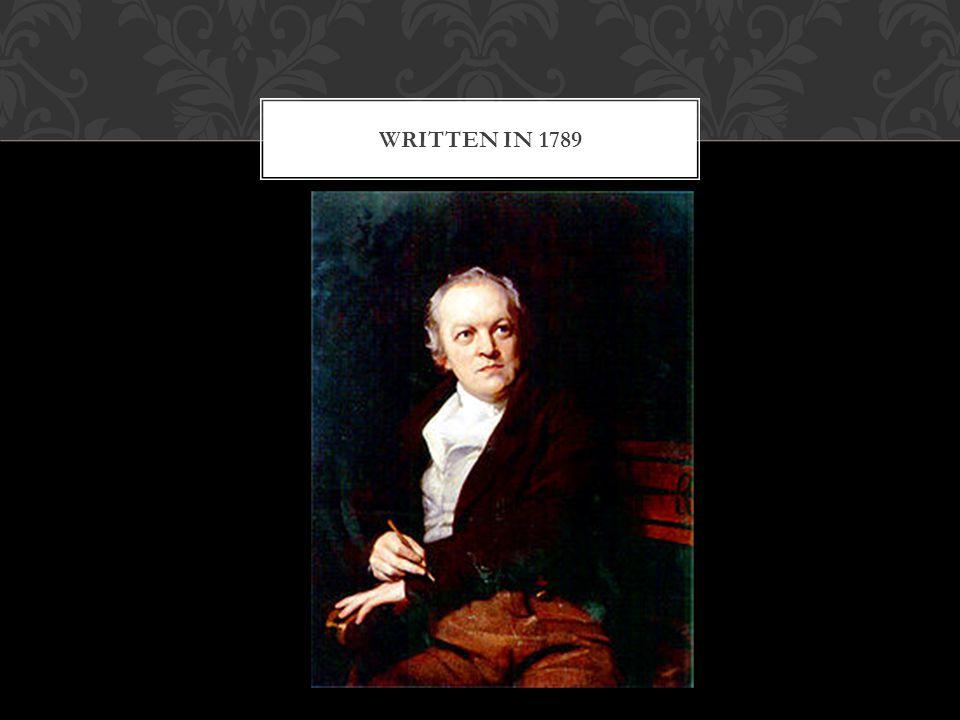 WRITTEN IN 1789