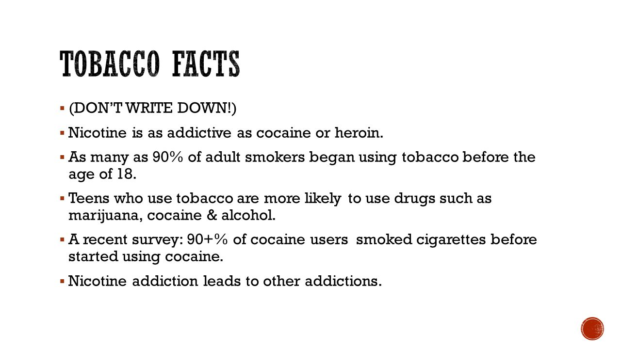  (Don't write down)  Government has found that tobacco companies market to young people.