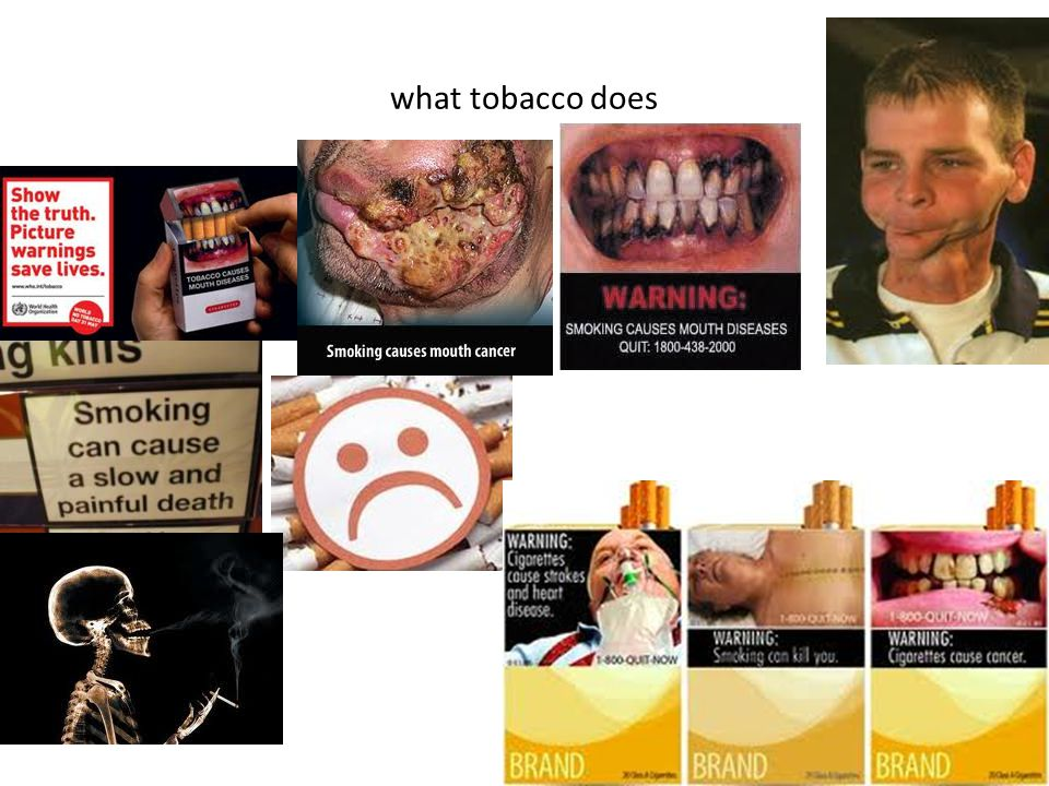 what tobacco does