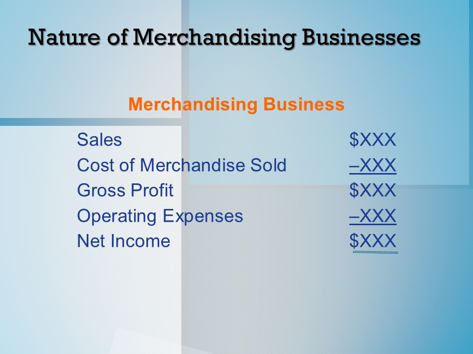 Revenue from Sales o Sales discounts are granted by the seller to customers for early payment of amounts owed.
