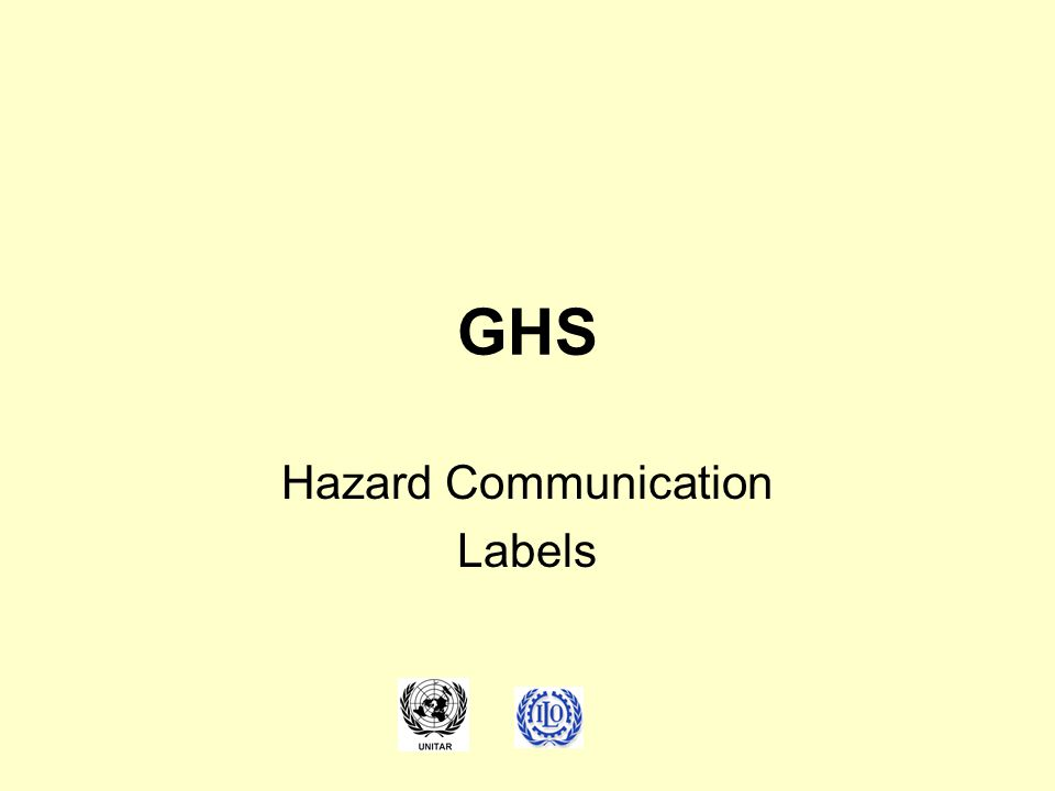 GHS Hazard Communication Labels