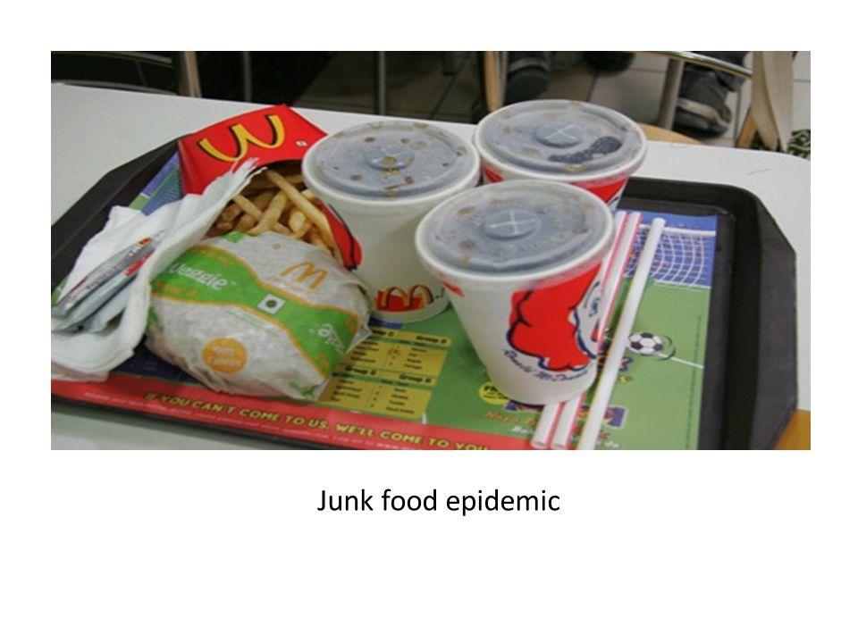 Junk food epidemic