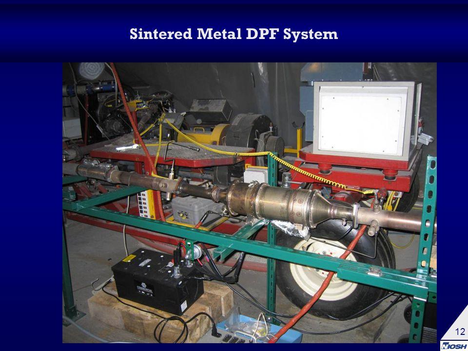 12 Sintered Metal DPF System