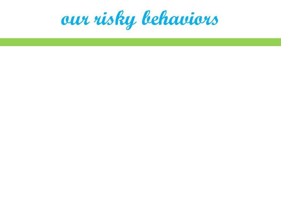 our risky behaviors