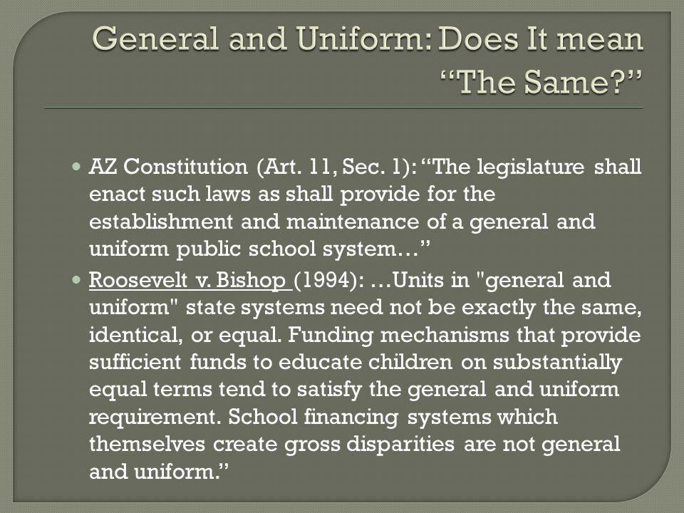 AZ Constitution (Art. 11, Sec.