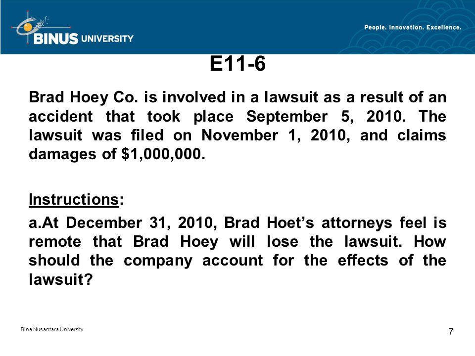 E11-6 Brad Hoey Co.