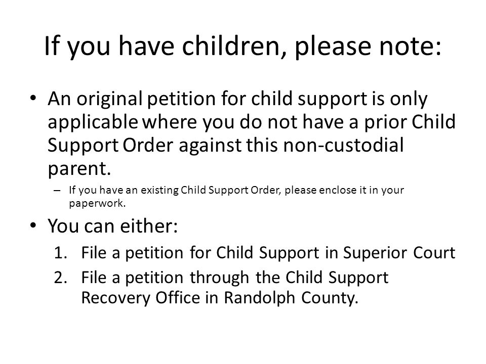 Child Support Worksheet: MUST BE FILED IN ALL CASES INVOLVING CHILDREN.
