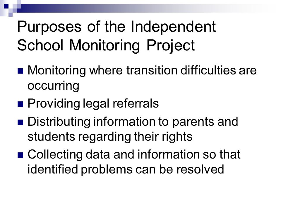 What the Project Will Do Provide trained volunteers at specific welcoming schools, both before and after school on the first two days of the school year, with possible additional days as-needed Collect information from volunteers to determine what issues need to be addressed Provide know your rights information to parents