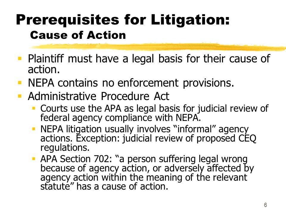 7 Prerequisites for Litigation: Venue  The Federal Court System  U.S.