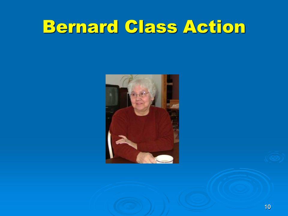 10 Bernard Class Action