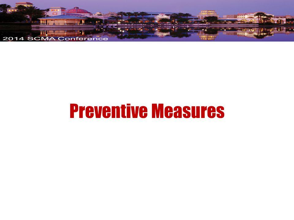 Preventive Measures
