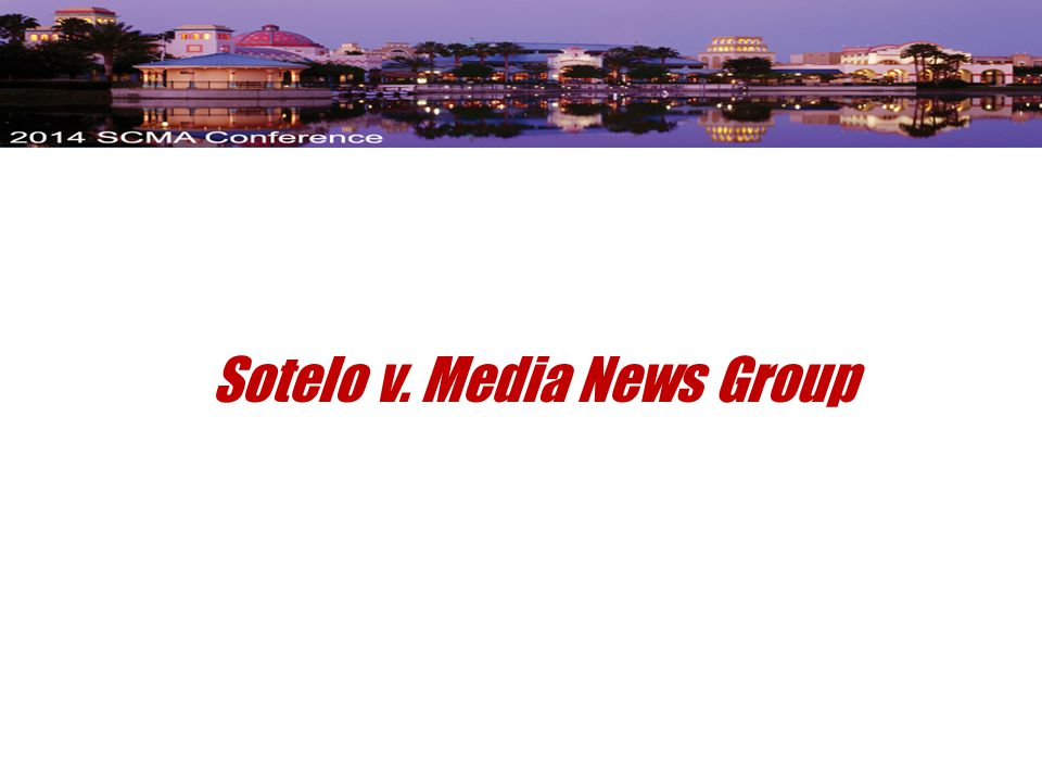 Sotelo v. Media News Group