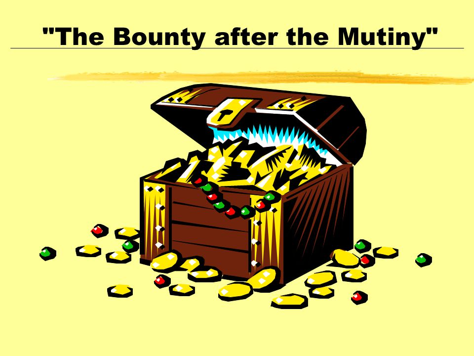 The Bounty after the Mutiny