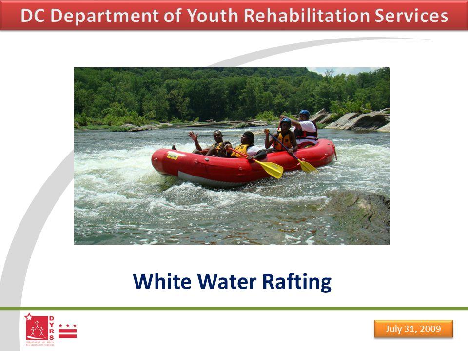July 31, 2009 White Water Rafting