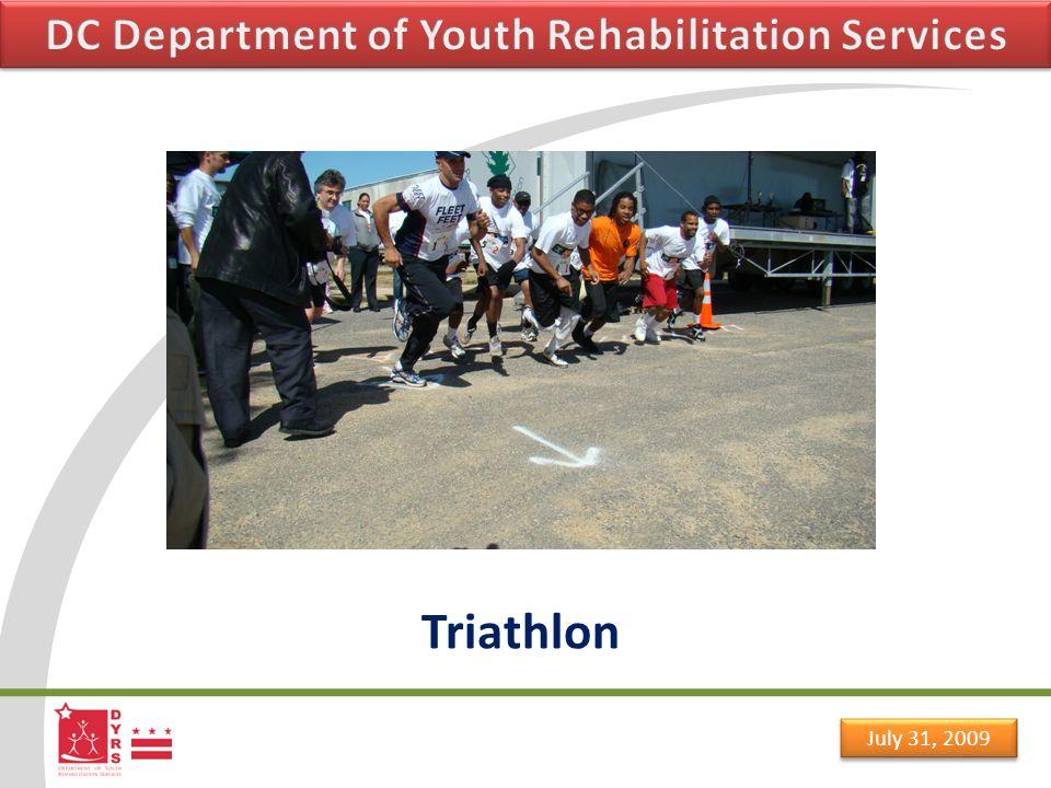 July 31, 2009 Triathlon