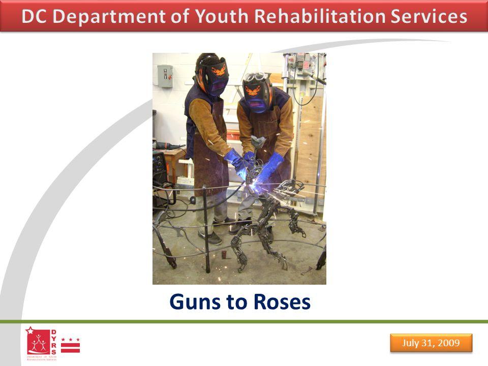 July 31, 2009 Guns to Roses