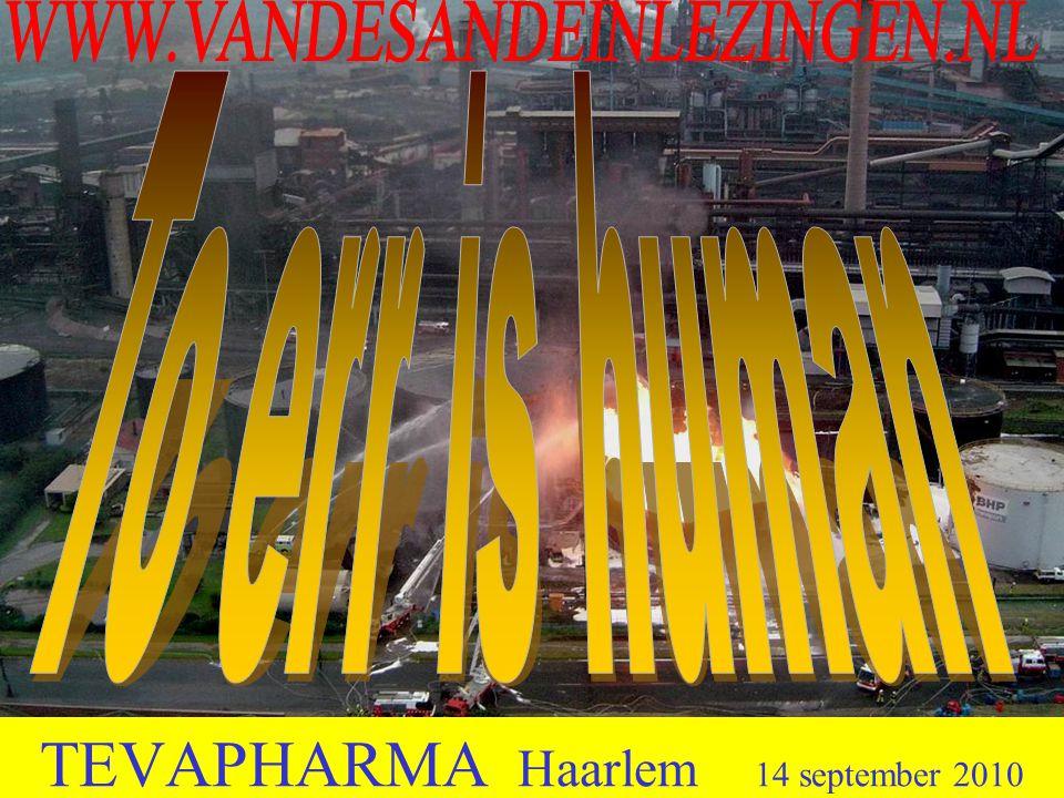 TEVAPHARMA Haarlem 14 september 2010