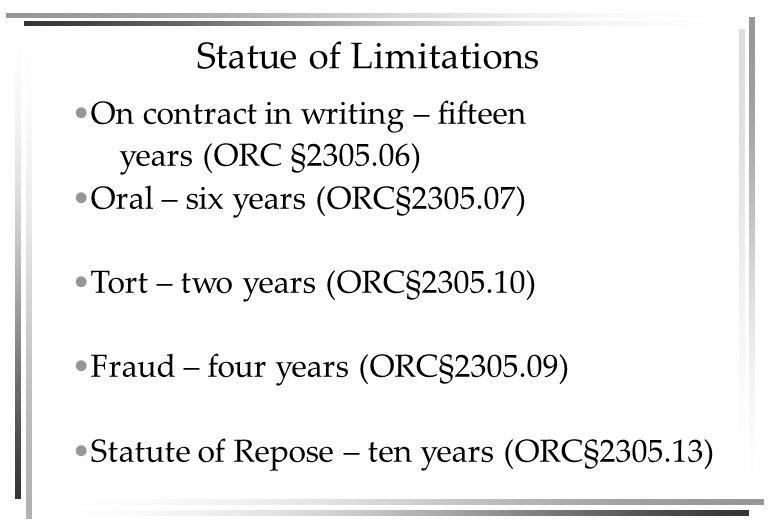 CIVIL LITIGATION LAWSUIT 1.Plaintiff files – Complaint 2.Defendant files – Answer  Counterclaims @ Plaintiff  Crossclaims @ Co-Defendant  Third-Party Claims @ Others 3.Answer has admissions, denials & affirmative defenses 4.Motions to Dismiss