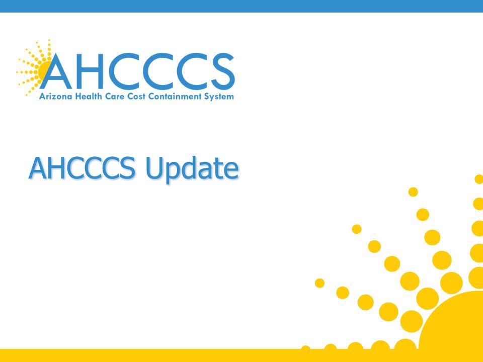 AHCCCS Update