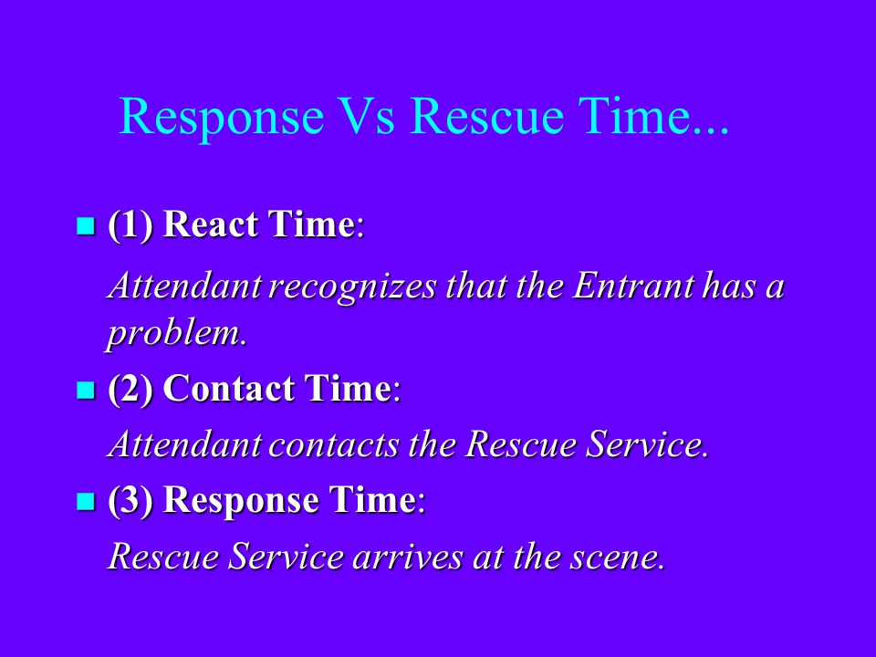 "What is timely response? n ""…permit space hazards vary in their capacity to kill or permanently injure employees and that what constitutes 'timely' wi"