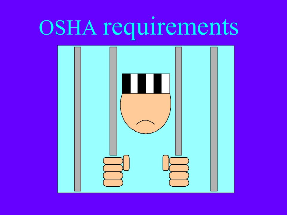 How many people die or get hurt seriously in confined space accidens? (Cont.) The numbers prevented by following the OSHA standard: 54 Fatalities 5,04