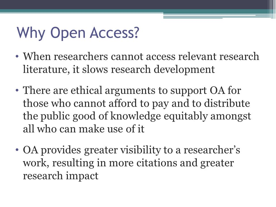 Perspectives on public access We believe that most scholarly authors of out-of-print books would prefer to make their books widely available with either no or minimal restrictions.