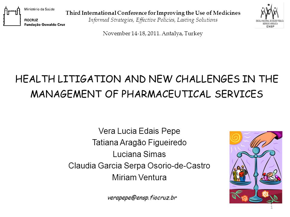 2 Problem Statement Pharmaceutical Services (PS) have gained importance in the Brazilian Health System (SUS) after the establishment of the National Medicines Policy (PMN), in 1998.
