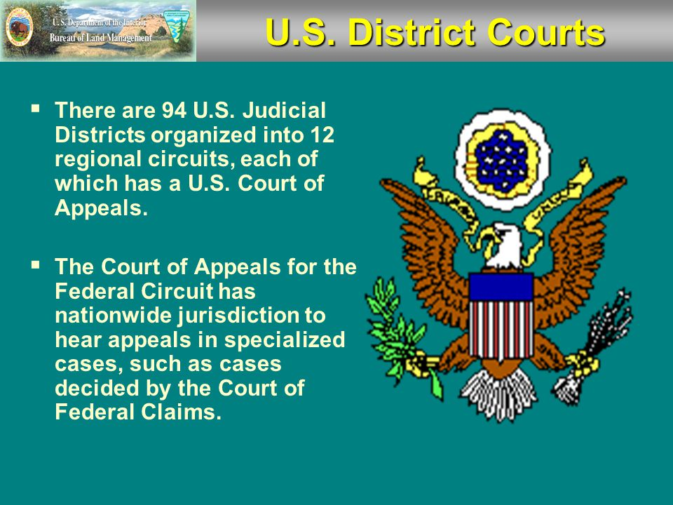  U.S. District Court  U.S. Court of Appeals  U.S.