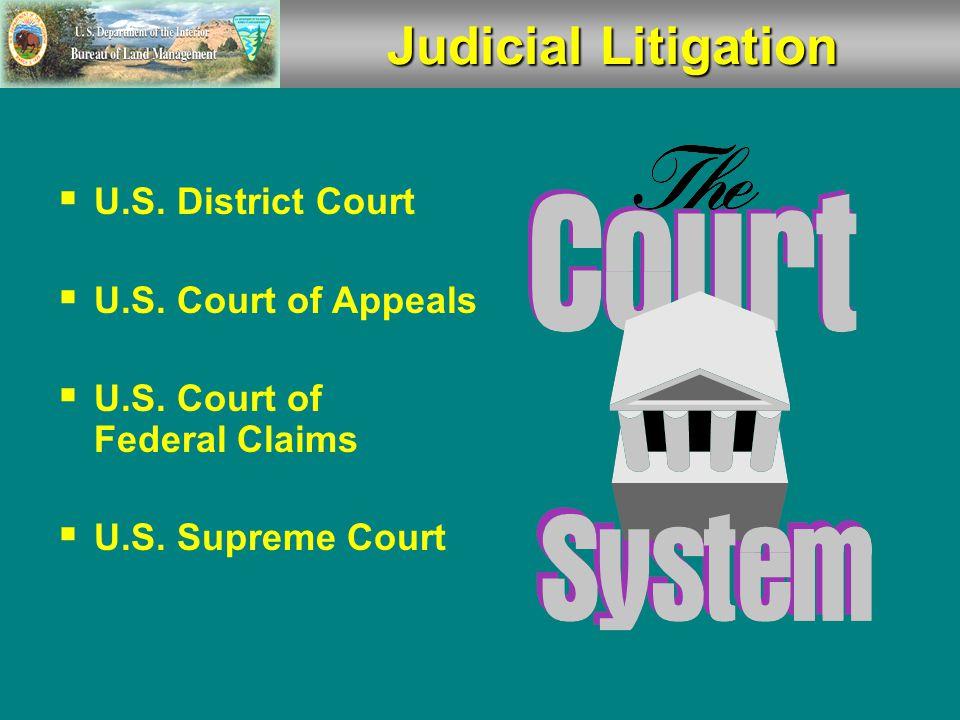  U.S.District Court  U.S. Court of Appeals  U.S.