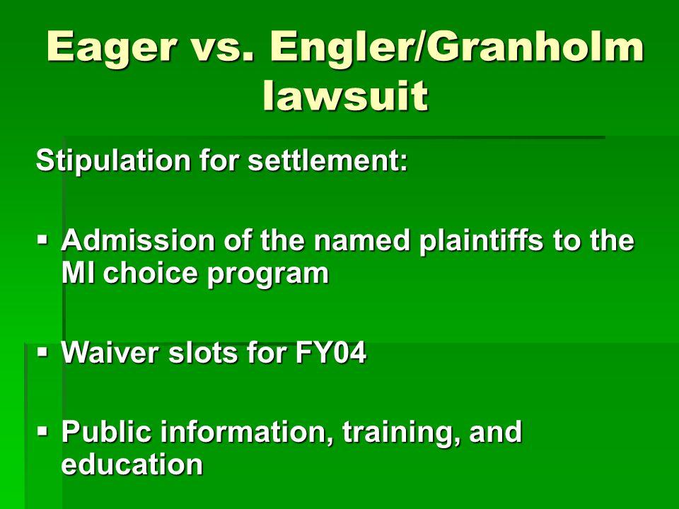 Eager vs.