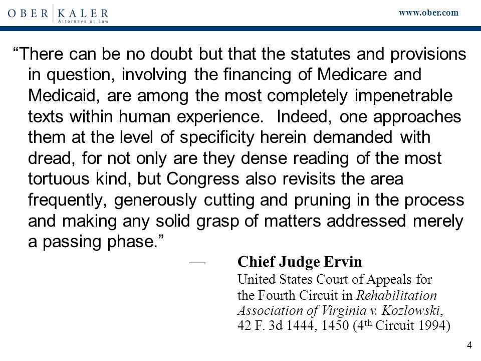 www.ober.com 15 U.S.ex rel. Drakeford v. Tuomey Healthcare System, Inc.