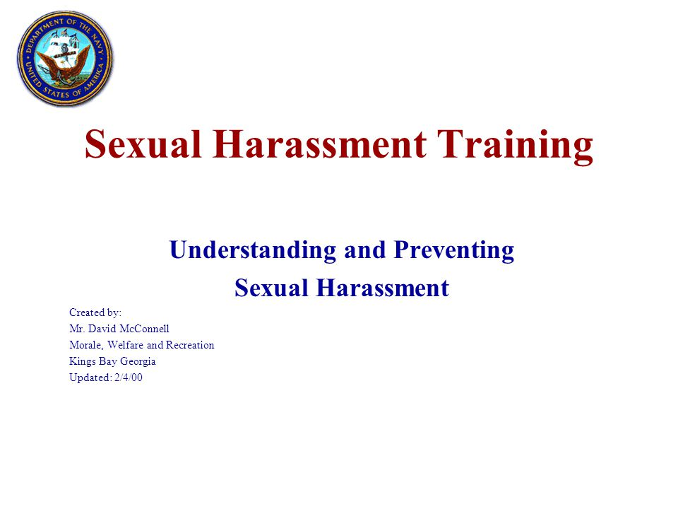 Answer True –Pictures and cartoons of a sexual nature can be considered sexual harassment.