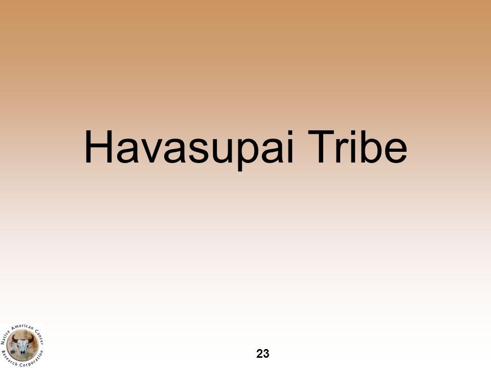23 Havasupai Tribe