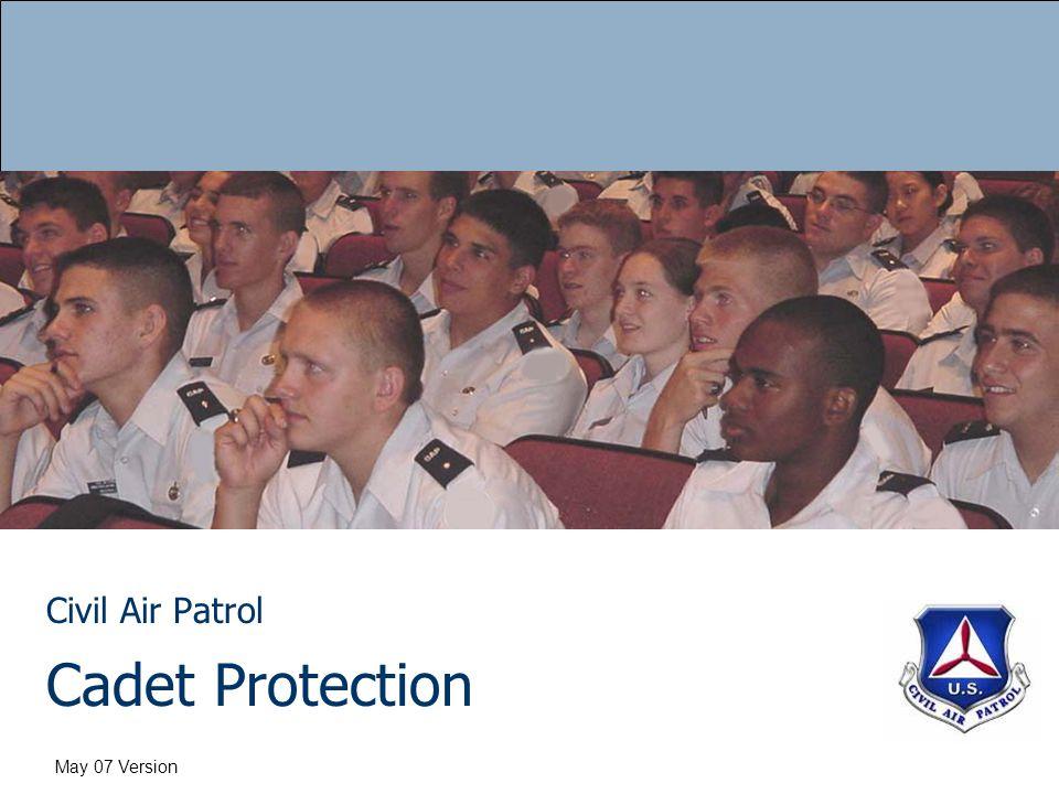 Cadet Protection Civil Air Patrol May 07 Version