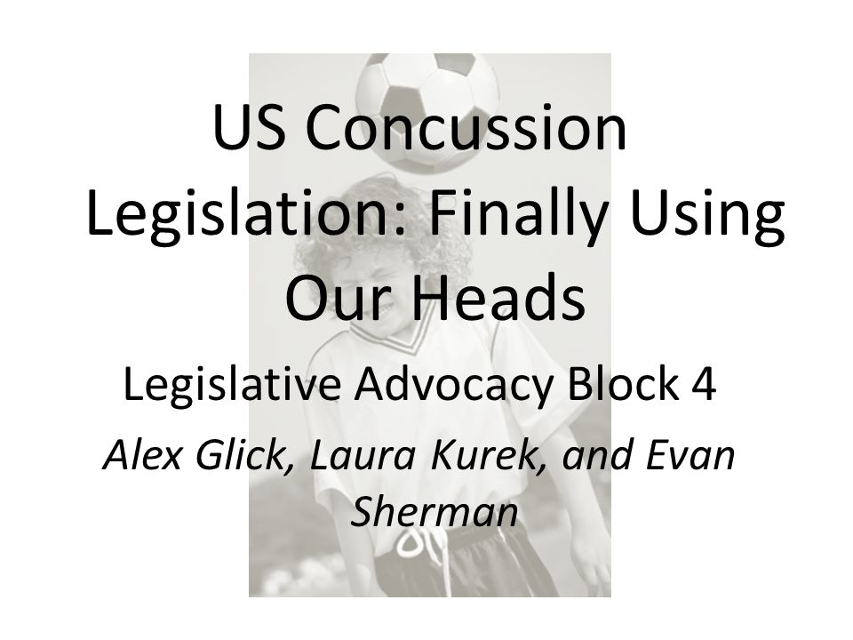 By the end of 2009, six states passed youth concussion laws There are currently 42 states with similar legislation.
