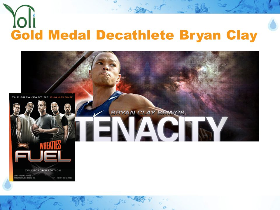 Gold Medal Decathlete Bryan Clay