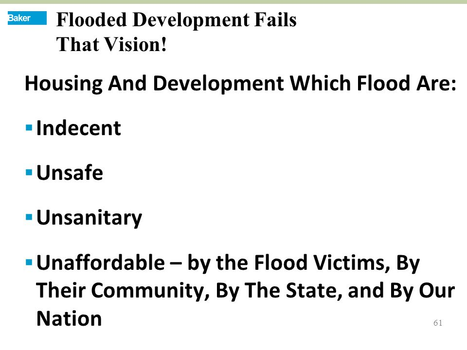 61 Flooded Development Fails That Vision.