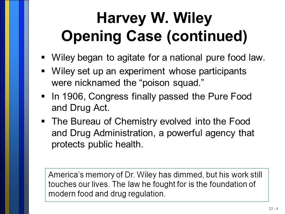 15 - 4 Harvey W.